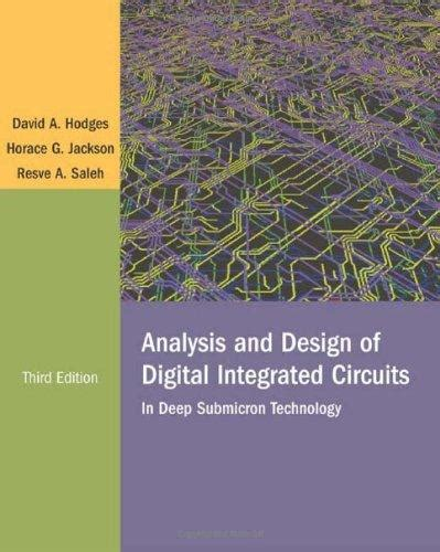 digital integrated circuits ebook isbn 9780072283655 analysis and design of digital integrated circuits 3rd edition direct textbook
