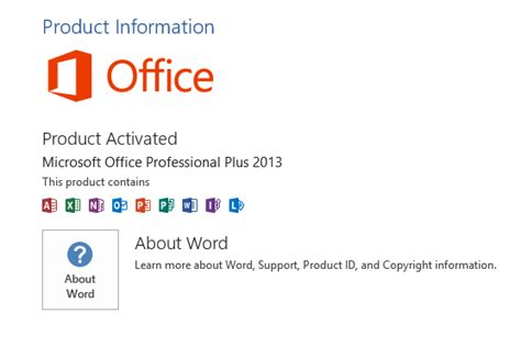 Change Product Key Office 2013 by