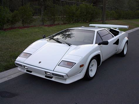 Lamborghini Countach White Lamborghini Countach White For Sale Image 246