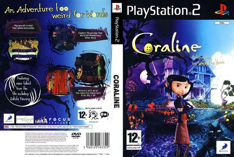 file game ps2 format iso coraline usa en fr es iso