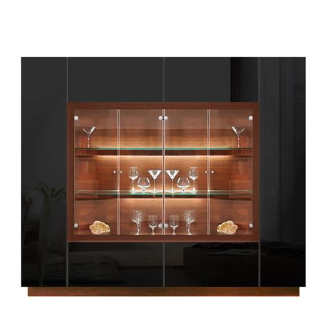 modern display cabinets jamison display cabinet modern glass curio concealed storage contempo space