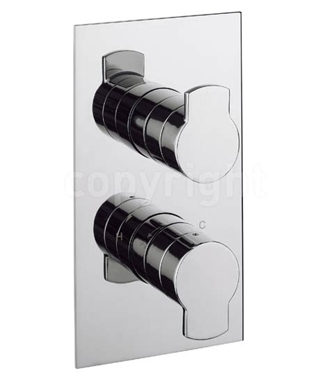 crosswater wisp 2d thermostatic shower valve with 2 way