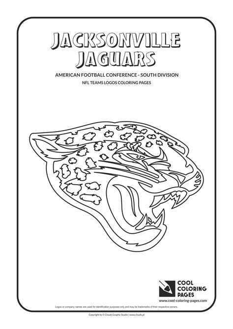 nfl jaguars coloring pages coloring pages