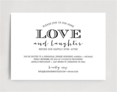 rehearsal dinner invitation wedding rehearsal dinner