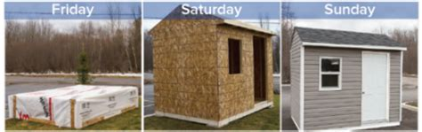Shed Express by Shed Kits Bytown Lumber