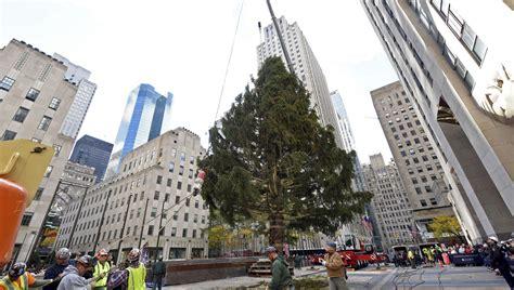 when do they remove rockefeller christmas tree rockefeller center tree lighting 2018