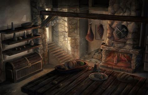 history in the making a showpiece kitchen castle design medieval kitchen by lukkar fantasy settings settlements