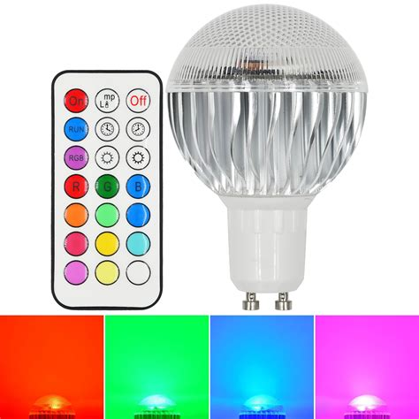 Multicolor Led Light Bulb Mengsled Mengs 174 Gu10 8w Led Rgb Light 16 Colour Changing Smd Leds Led Globe L Bulb With Ir