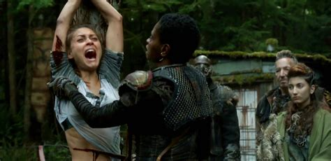 review the 100 season two the mental attic