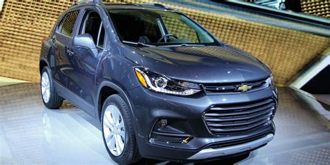 2017 chevrolet trax vehicles on display chicago