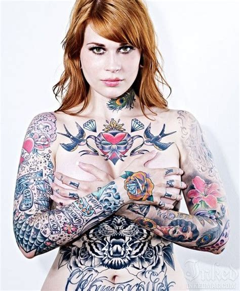 full body tattoo female 324 best images about beastly tattoos on ink