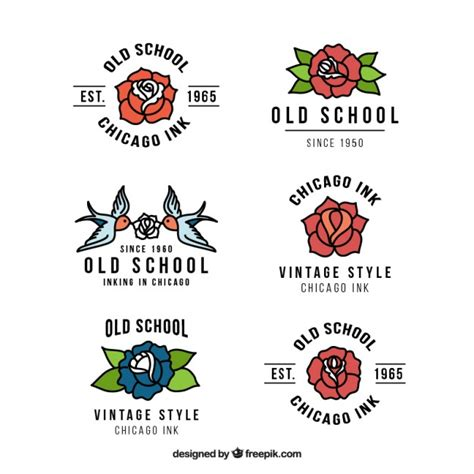 tattoo logo free collection of beautiful tattoo studio logos vector free