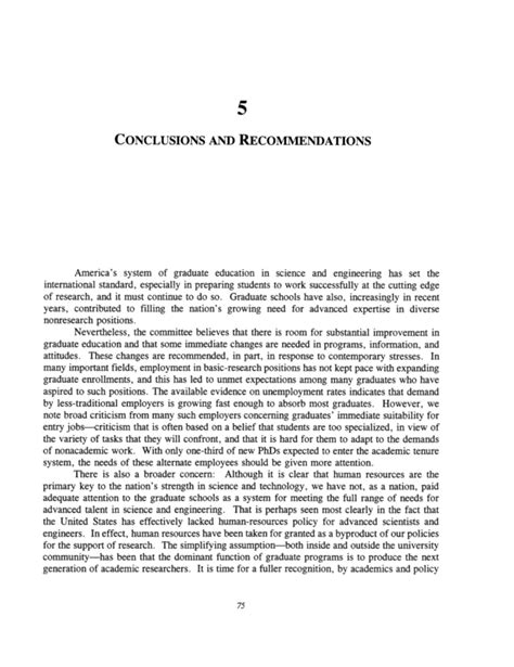 dissertation conclusions conclusion and recommendation for thesis professional