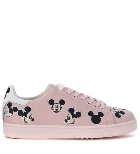 mickey sneakers m o a master of arts sneaker moa mickey mouse in pink