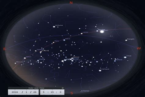 planet alignment january 2016 see all five naked eye planets in january february 2016