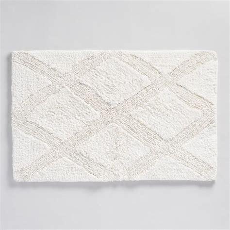 world market bath rugs tufted bath mat world market