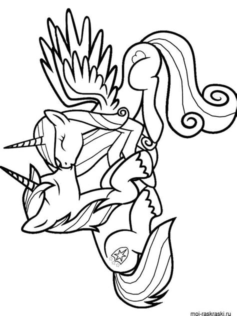 ponyville coloring pages  printable ponyville