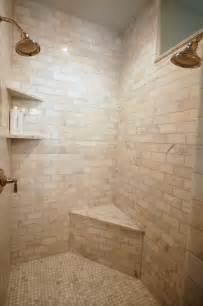 calcutta gold marble subway tile transitional bathroom