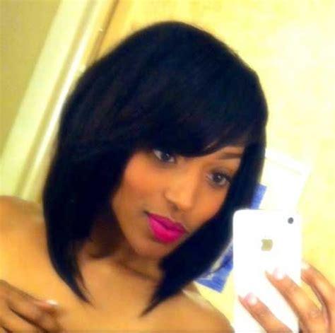 ladies razor cut bobs razor cut bob for black women hairstyles pinterest