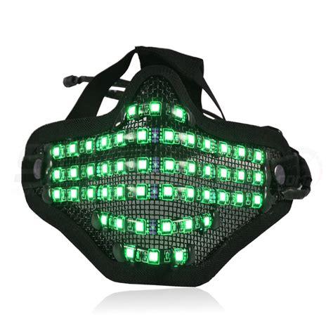 Led Light Face Mask Bionic Led Face Mask With Adjustable Multi Color Led By