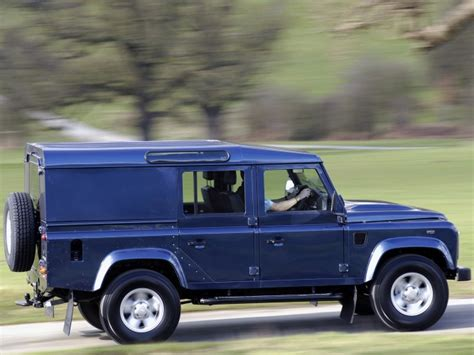 land rover defender 110 utility wagon 4 point bolt in