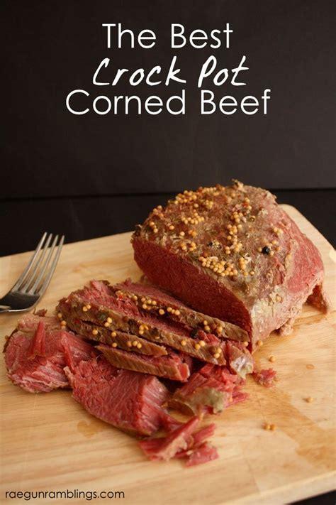 easy corned beef brisket recipe the best crock pot corned beef recipe crock pot corned