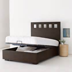 Bed Frames Modern Pivot Storage Bed Frame Modern Beds By West Elm
