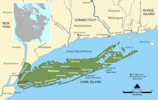 Map Of New York City And Long Island by Longisland Mapsof Net