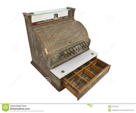 How To Open Register Drawer by Vintage Register Drawer Open Stock Photo Image