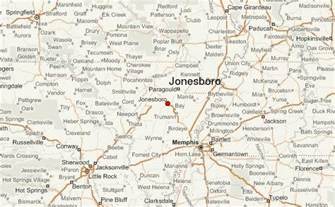 jonesboro louisiana map gu 237 a urbano de jonesboro arkansas