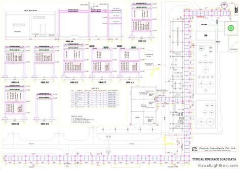 piping layout drawings download detail engineering protech consultants pvt ltd
