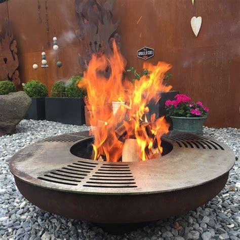 Feuerschale Grill Chromstahl by Grosse Feuerschale Auch Zum Grillieren St 246 Ckli Metall Ag