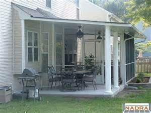 how to screen in a covered patio screened enclosures screen porch and covered patio