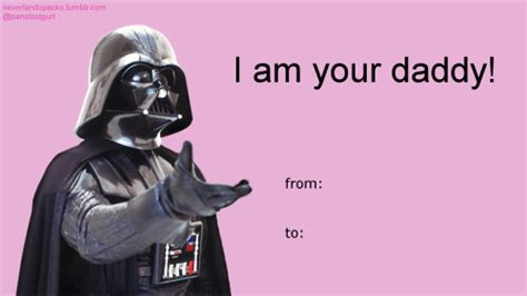 Star Wars Valentine Meme - 22 sh tty star wars valentines cards to let them know that