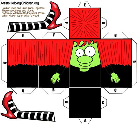 printable paper halloween crafts paper crafts templates print out for halloween
