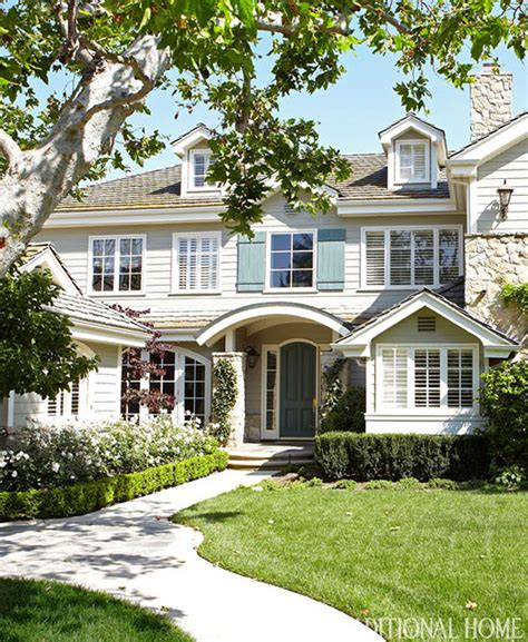 california home and design simplified living in an elegant california home