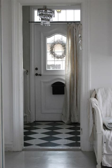 curtain over front door front door love the curtain on it home pinterest