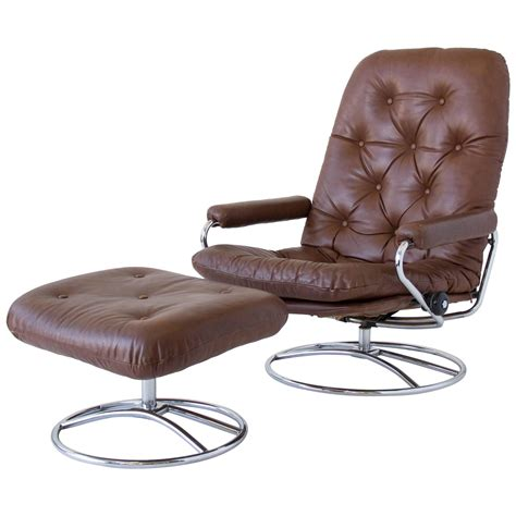 ekornes stressless recliner sale ekornes stressless chair and ottoman for sale at 1stdibs