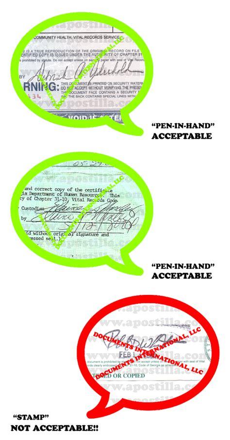 Ga Vital Records Birth Certificate Apostille Apostilla