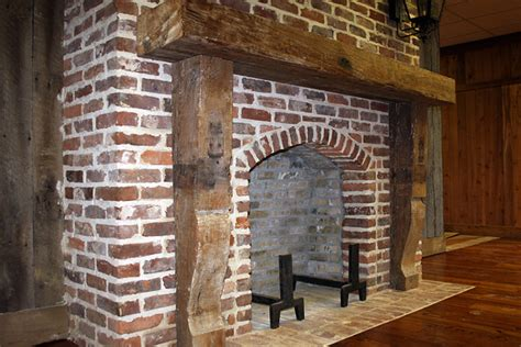 Reclaimed Brick Fireplace by Reclaimed Brick Photo Gallery Green Family Materials