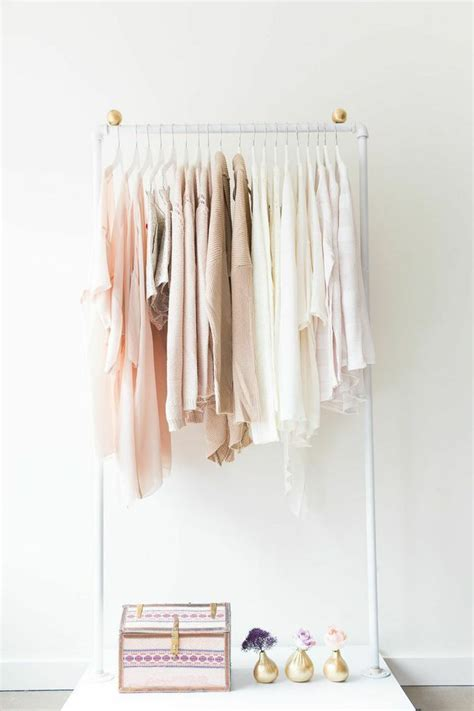 White Clothes Rack by Best 25 Wardrobe Rack Ideas On