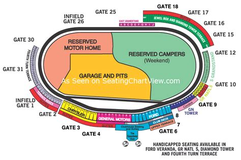 seating capacity motor speedway motor speedway concord nc seating chart view