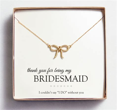 Gifts For Your Bridesmaids by Bridesmaid Gift Idea Customizable Jewelry From Wedding