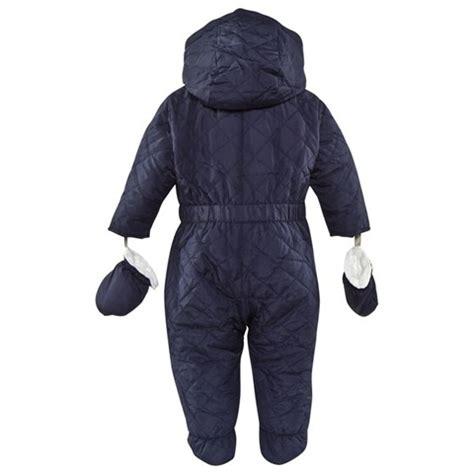 Z Hem Burberry Unisex burberry unisex navy quilted snowsuit fashion