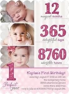 1st birthday invitation card for baby 25 best ideas about birthday invitations on