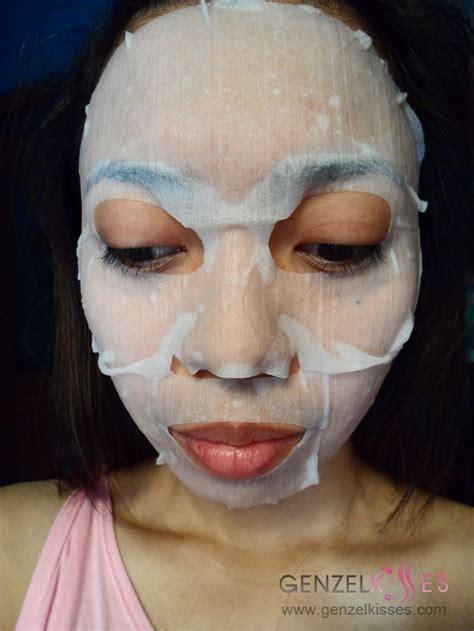 Masker Garnier garnier light 3 in 1 whitening essence mask zel