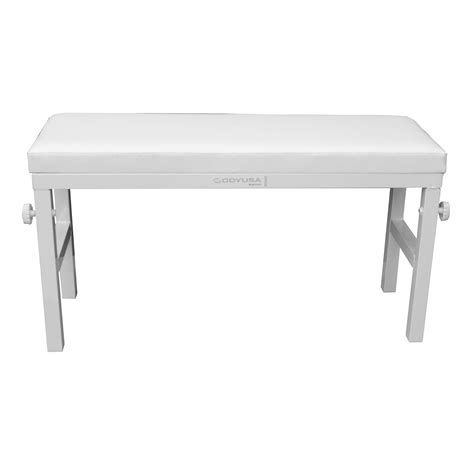 40 Inch Bench Odyssey Bnchwht Luxe Series 40 Inch Wide Portable White