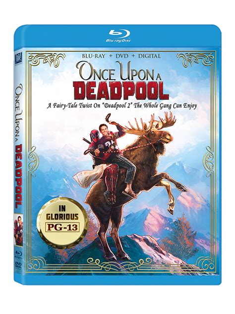 567604 once upon a deadpool once upon a deadpool hits shelves with 1 per purchase