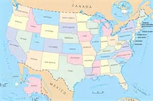 a map of the united states of am