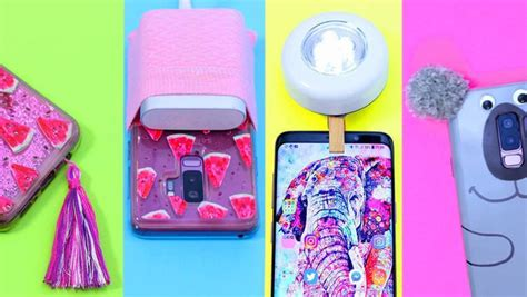 easy diys  update  phone   practical  cute